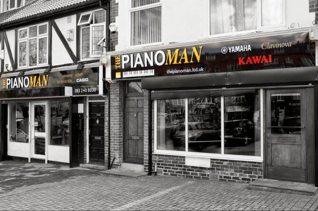 Piano Man Ltd shop front